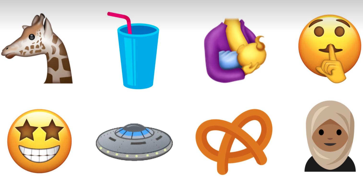 unicode-10-emojis