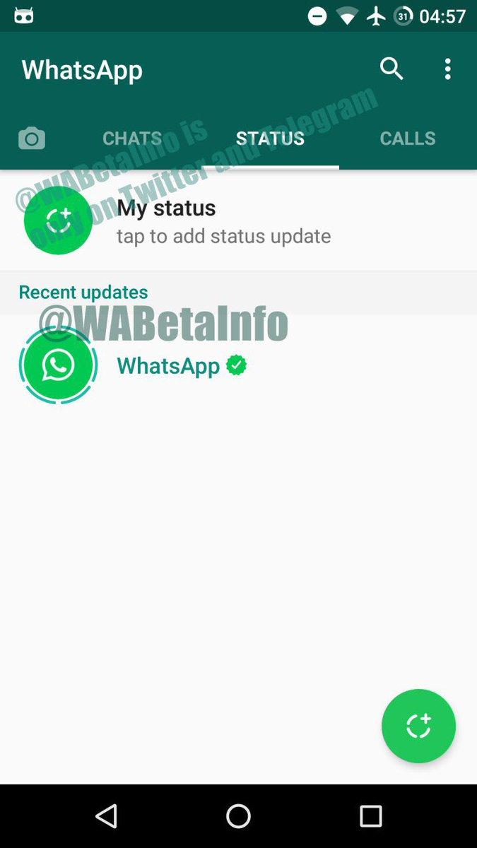 Whatsapp Status Función Que Incorpora Historias A La App