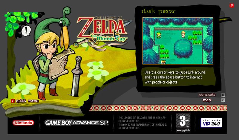 Los Viejos Juegos Flash Promocionales De Nintendo Vuelven A La Vida