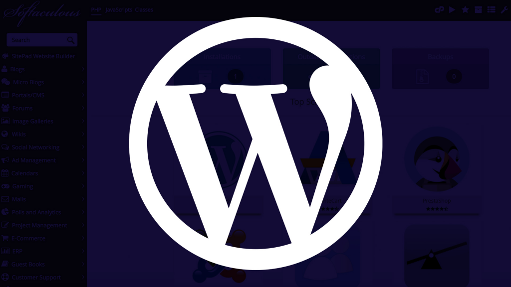 wordpress facil