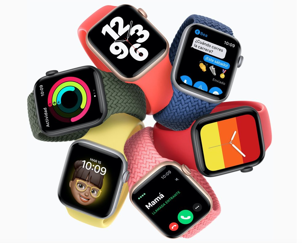 Apple reveló el Watch Series 6, la nueva versión de su reloj inteligente