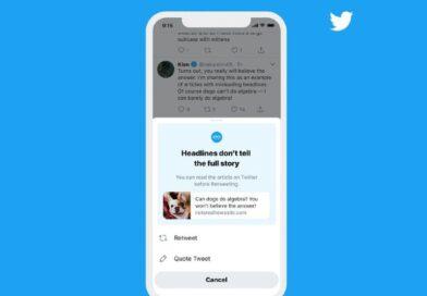 Twitter ahora preguntará si hemos leído un artículo antes de retuitearlo
