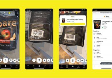 Snapchat ahora puede escanear vinos y alimentos empaquetados