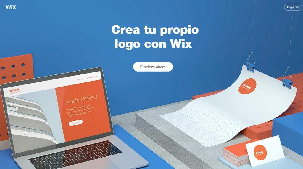 logo wix creador