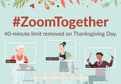 Zoom levantará el límite de tiempo de 40 minutos durante el periodo de fiestas