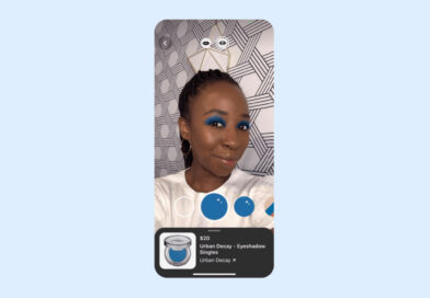 Pinterest lanza una nueva función de sombra de ojos virtual