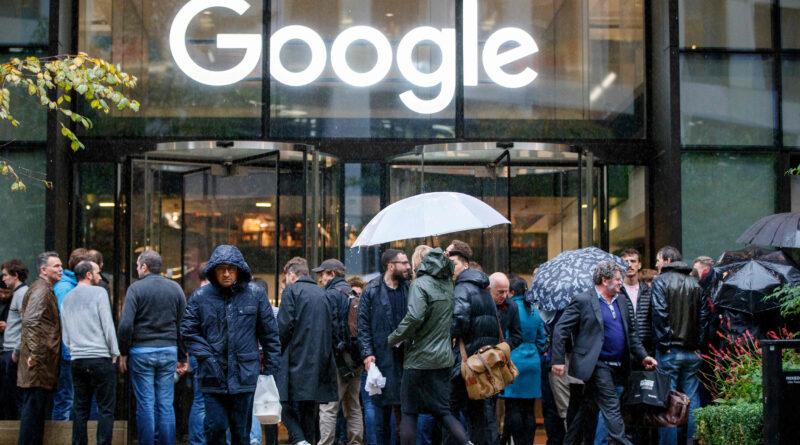 Trabajadores de Google demandan cambios en las políticas sobre acoso laboral