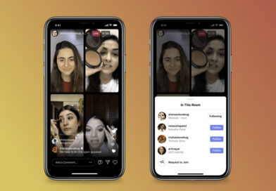 Instagram Live Rooms ahora permite silenciar audio y video