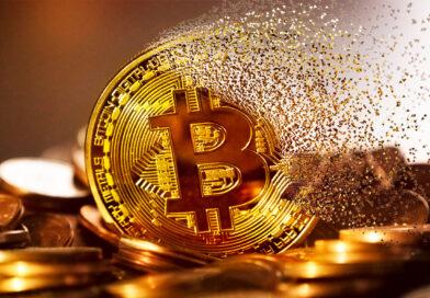 Bitcoin cayó más del 9% luego de haber alcanzado su valor record