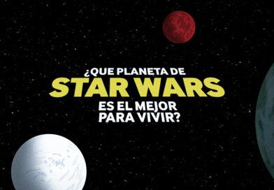 En qué mundo de la galaxia Star Wars se puede vivir