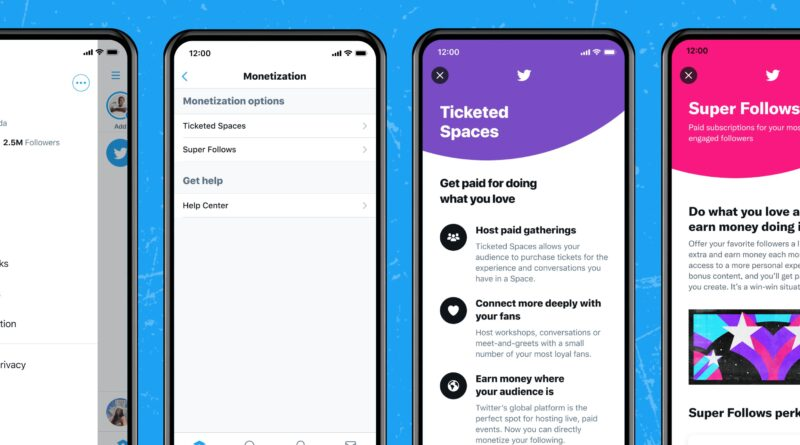 Twitter ahora permitirá cobrar por acceso a contenido a través de dos nuevas funciones