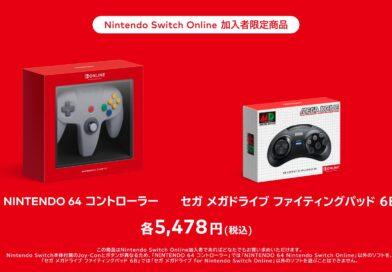 Nintendo lanza controladores inalámbricos N64 y Genesis de seis botones solo en Japón