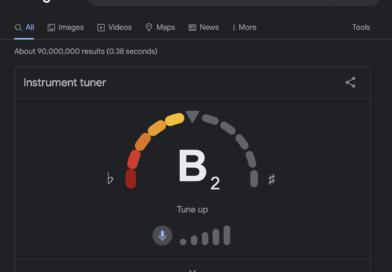 Google Tuner: el nuevo afinador online de Google